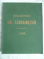 CATALOGUE DE VENTE COLLECTION CH SEDELMEYER TOME III Tableaux Peinture 1907