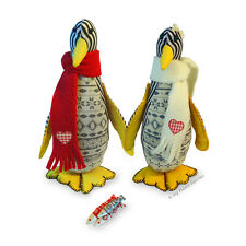 """Cute PENGUIN 8"""" Soft Toy Sewing PATTERN & Easy Instructions Make Your Own"""
