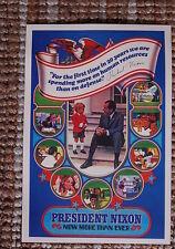 Richard M Nixon campaign poster #2 1972