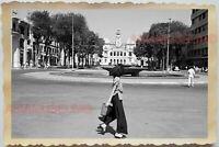 50s Vietnam War Saigon Ho Chi Minh City Hall Building Street Vintage Photo #480