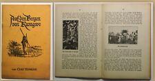 Orig. Prospekt Ronicke Auf den Bergen von Karagwe um 1939 Afrika Landeskunde sf