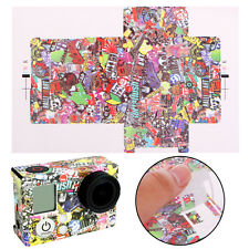 Camera Accessories Kaleidoscope Paster Cartoon Skin Sticker For GoPro Hero 3 3+