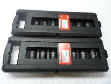 "Craftsman 1/2"" Drive SAE & MM Impact Hex Bit Socket Set 14 pcs - p/n 50840/50841"