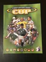 Confederations cup 1999 empty sticker album - very good