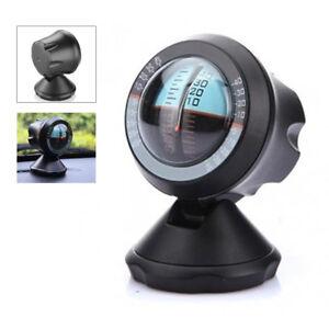 Black Four Wheel Drive 4X4 4WD Inclinometer Clinometer Slope Gauge