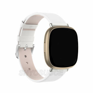 For Fitbit Versa 3 | Sense Genuine Leather Watch Band Strap Replacement Bracelet