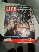 Life Magazine January 27, 1961 The Kennedy Inauguration Cover
