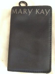 New Mary Kay Mini Makeup Brush Case With Mirror Perfect Travel Sz. Fits In Purse