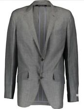RICHARD JAMES Grey Wool Blend Lightweight Suit 44R RRP £825