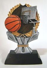 Basketball Trophy Resin Impact Series - RIC863 - Free Engraving