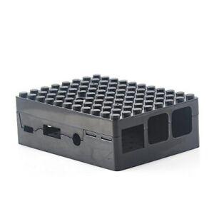 Makerfire RPI 3 PiBlox Black Case for Raspberry Pi Model B+, 2B, 3B NEW