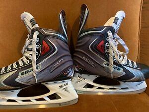 Bauer Vapor X60 Adult Size 9D Ice Hockey Skates - Excellent Condition
