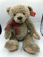 Gotta Getta Gund Calvin Brown Teddy Bear Jointed Plush Stuffed Toy Animal Doll