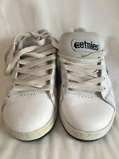 Etnies Kids Boys Cinch White & Black Skate Shoes Childrens UK Size 1 BNWOB