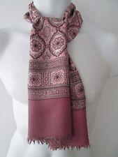 Vintage Mens 60s Patterned Silk Style Scarf Mod/Dandy  (7806E)