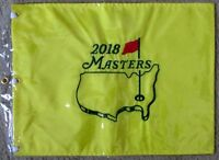 1 - 2018 MASTERS Official EMBROIDERED Golf Pin FLAG