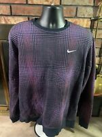 Vintage Nike Crewneck Sweatshirt Mens Size Large Swoosh Logo RARE Graphic EUC