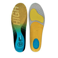 Sidas Unisex Run 3Feet Protect High Blue Yellow Sports Running Insoles