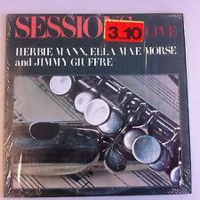 LP - Sessions Live - Herbie Mann Quartet Ella Mae Morse Lutcher Giuffre Three