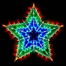 The Christmas Workshop LED Indoor Decorations Star Light - Multicoloured (77710)