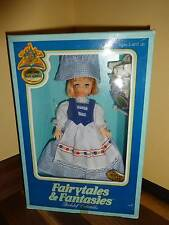 Fairytales Fantasies Doll Mary Mary Quite Contrary Bookshelf Collectables Fishel