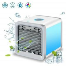 Mini Climatiseur Portable Mobile Bureau Cube Clim Humidificateur Ventilateur Air