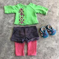 """American Girl AG 18"""" Doll Retired 2011 Skateboard Set Outfit No Skateboard"""