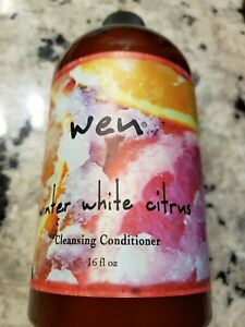 WEN Winter Winter White Citrus Cleansing Conditioner 16oz Sealed With Pump