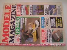 **a1 Modèle magazine n°525 Plan encarté Fo Nanza / OS 40 SF RING / Skyflex 2000
