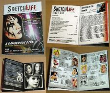 SketchLife Mini-Magazines Issues 1 & 2 by ReddLife + 6 Promos (2011)