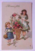 Geburtstag, Kinder, Mode, Korb, Rosen,     1913 ♥