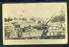 pc11261 postcard WWI 11m German Gun Captured by British 4th real photo