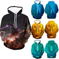 Godzilla: King of the Monsters 3D Hoodie Unisex Sweatshirt Jacket Pullover Tops