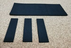 Foam Pads single Sided Sticky Fixers 3D Effect Art Craft  black 50mmx15mm x 2mm