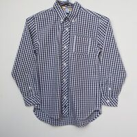 Fantastic KITESTRINGS by HARTSTRINGS Boy's Checked Long Sleeve Shirt age 8 years
