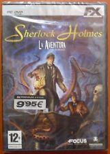Sherlock Holmes - La Aventura [PC DVD-ROM] FX Interactive,Versión Española NUEVO