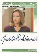 "Complete Star Trek TNG S2 - Nicole Orth Pallavicini ""Kareel Odan"" Autograph Card"