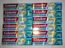 Lot of 12 Colgate Total Toothpaste Advanced FRESH + WHITENING GEL 5.1 oz. ea