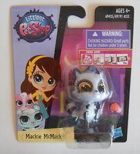 NEW Littlest Petshop LPS Hasbro Mackie McMask Purple Raccoon #3750 Toy
