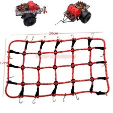 Cool Racing 1/10 Elastic Bungee Net (RED) For Rock Crawler Rc Trailer Tow Truck