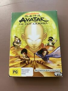 Avatar: The Last Airbender DVD 2010 The Complete Book 2 Collection [Nickelodeon]