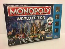 RARE Monopoly Here and Now World Edition Game Hasbro Board Game. BRAND NEW.
