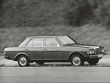 Mercedes Benz 200D 1988 Original Press Photograph With Notes Excellent Condition