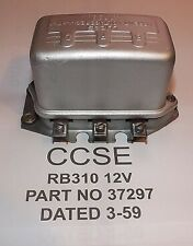 GENUINE LUCAS RB 310 12V  DATE 3-59 37297 (OUR REBUILD) EXCHANGE UNIT REQUIRED