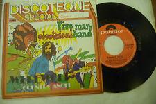 """FIVE MAN ELECTRICAL BAND""""WEREWOLF-disco 45 giri POLYDOR Italy 1974"""" RARISSIMO"""