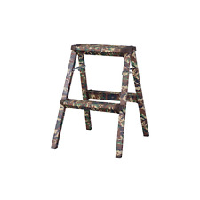Home Ladder Compact Light Folding Step Stool Camouflage-style PC-502 Azumaya NEW