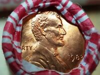 1983 P  Bank Wrapped LINCOLN MEMORIAL CENT PENNY ROLL BU