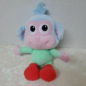"Fisher Price Dora The Explorer Baby Boots The Monkey Plush 8"" 2009 Plush Toy"