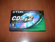 CASSETTE TDK CDing2 POSITION CHROME 90 TYPE II NUEVA