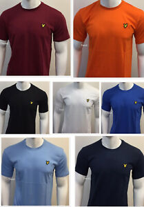MENS LYLE AND SCOTT SHORT SLEEVE CREW NECK T-SHIRT FOR ALL SEASONS 100% COTTON